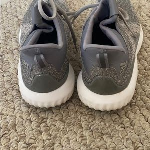 adidas Shoes - Adidas gray alpha bounce running shoes